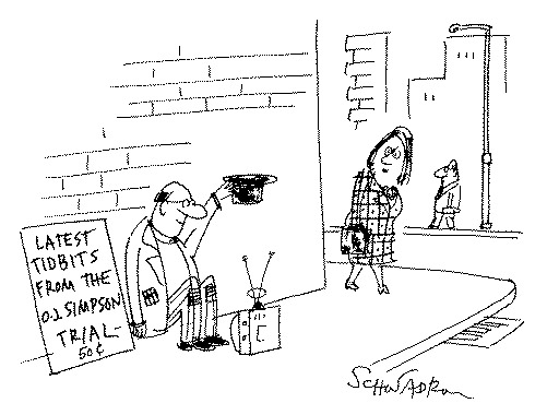 Funny Harley Schwadron news  cartoon, March 22, 1995