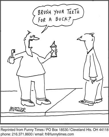Funny vision Carol Lay  cartoon, May 08, 1996
