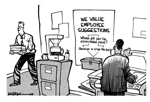 Funny subprime loan kirk  cartoon, July 31, 1996