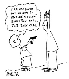 Funny mueller child education cartoon, September 04, 1996