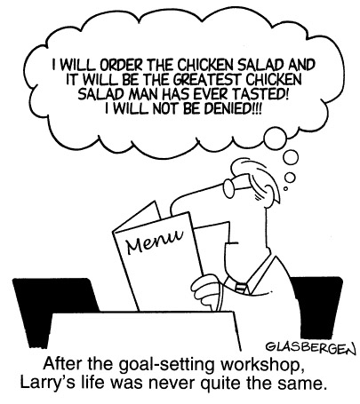 Funny goal mission statement  cartoon, October 30, 1996