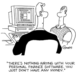 Funny computer taxes ted  cartoon, January 15, 1997