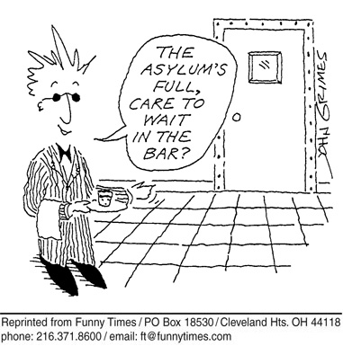 Funny teacher Carol Lay  cartoon, April 09, 1997