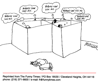 Funny mueller office PS  cartoon, August 13, 1997