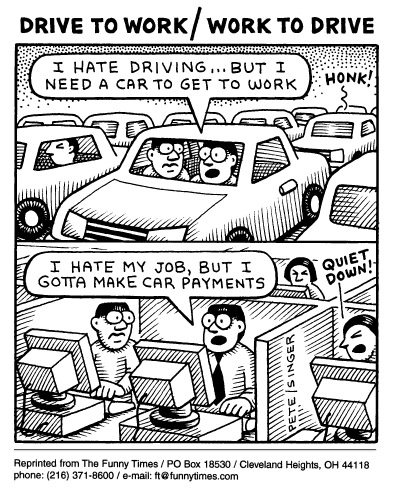 Funny andy singer traffic  cartoon, September 17, 1997