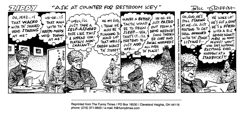 Funny Bill service customer  cartoon, November 19, 1997