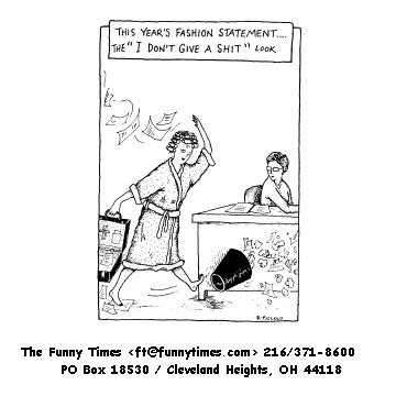 Funny marketing fashion sales  cartoon, December 17, 1997