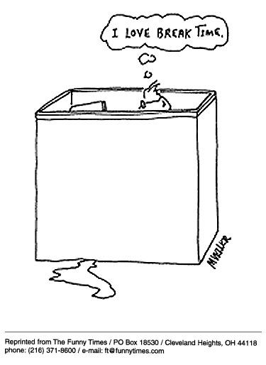 Funny mueller work office  cartoon, March 25, 1998