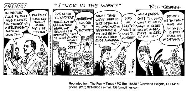 Funny food progress job  cartoon, May 06, 1998