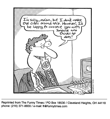 Funny veley office phone  cartoon, September 30, 1998