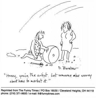 Funny house work art cartoon, January 06, 1999