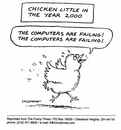 Funny kopf little computers  cartoon, June 23, 1999