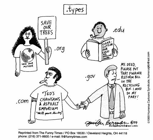 Funny org jennifer berman  cartoon, September 08, 1999