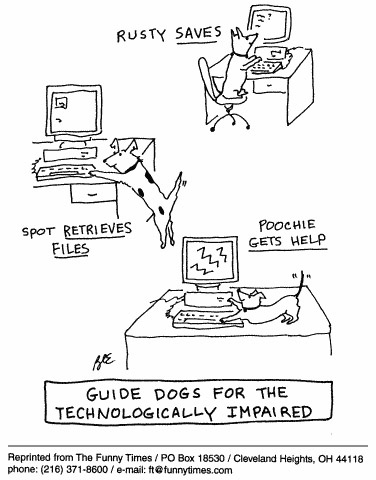 Funny computer love sex  cartoon, October 06, 1999