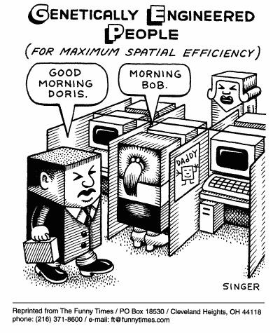 Funny andy singer office  cartoon, November 17, 1999