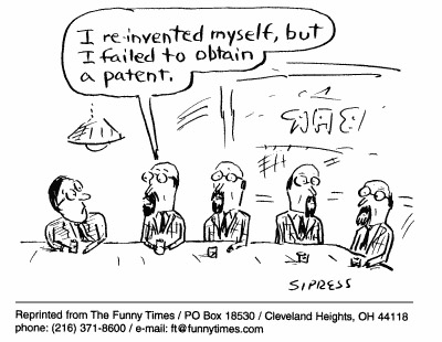 Funny blogging Sipress overworked  cartoon, November 24, 1999