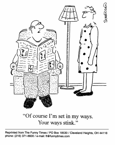 Funny marriage love sorensen  cartoon, December 01, 1999