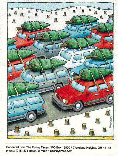 Funny andy singer traffic  cartoon, January 05, 2000