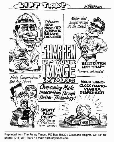 Funny matt wuerker products  cartoon, May 24, 2000