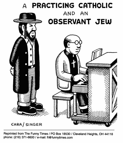 Funny andy singer practicing  cartoon, December 06, 2000