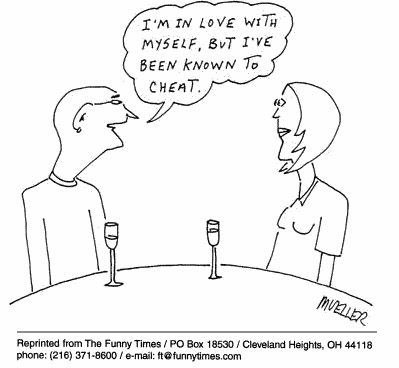 Funny mueller love dating  cartoon, March 28, 2001