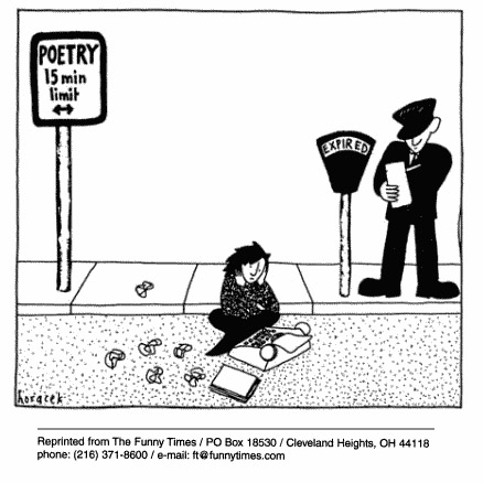 Funny horacek parking time  cartoon, May 02, 2001