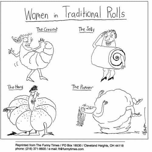 Funny lawton women punny  cartoon, May 09, 2001