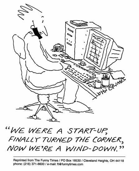 Funny john grimes progress  cartoon, June 06, 2001