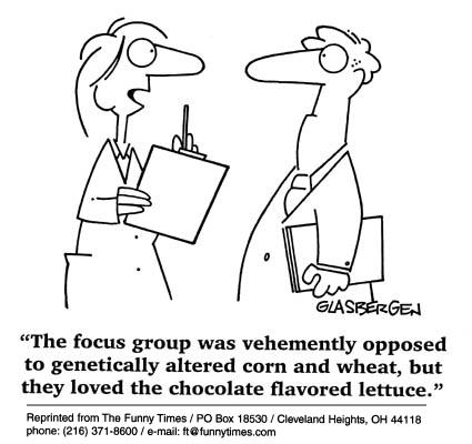 Funny food science Glasbergen  cartoon, July 18, 2001