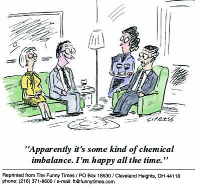 Funny happy science Sipress  cartoon, September 05, 2001