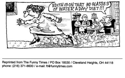 Funny water edgar argo  cartoon, September 19, 2001