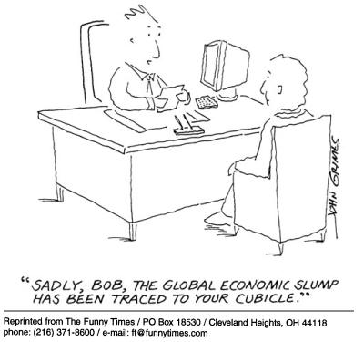 Funny john grimes global  cartoon, January 03, 2002