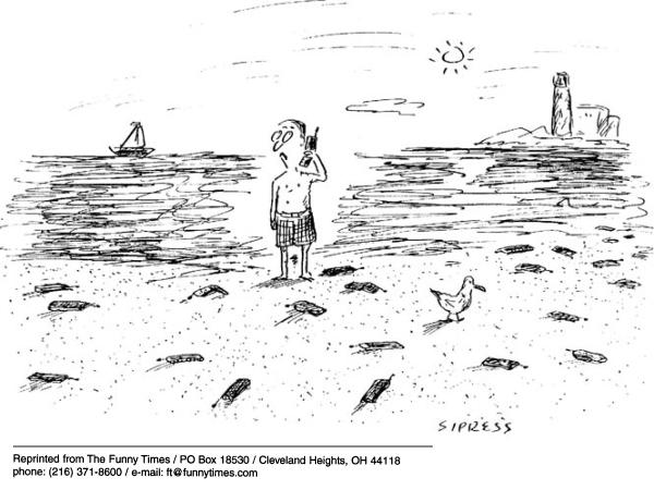 Funny Sipress phone cell  cartoon, February 27, 2002