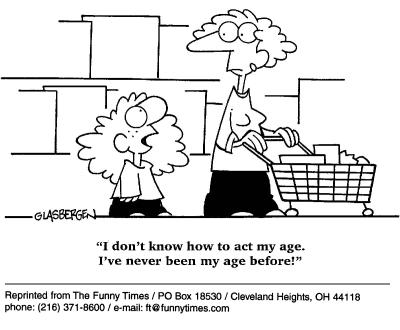 Funny kids Glasbergen mom  cartoon, March 13, 2002