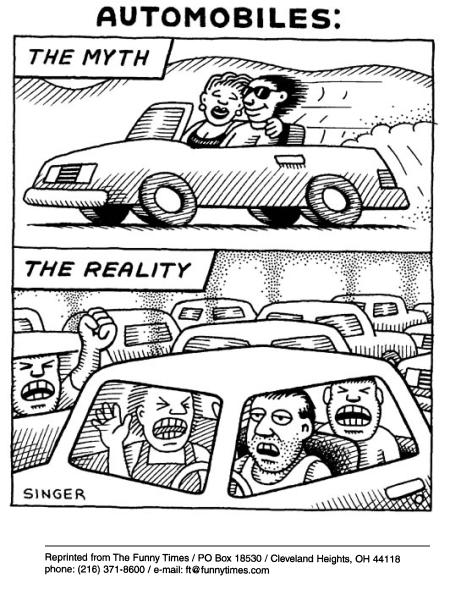 Funny singer suv cars  cartoon, September 04, 2002