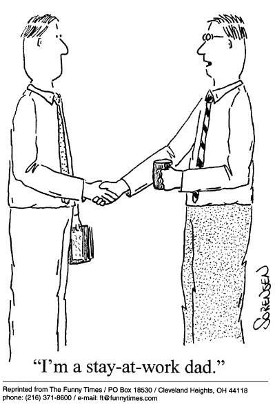 Funny work sorensen job  cartoon, September 25, 2002