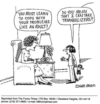 Funny drugs argo psychiatry  cartoon, October 02, 2002