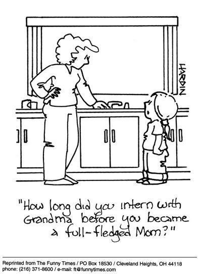 Funny kids Hardin mom  cartoon, October 23, 2002