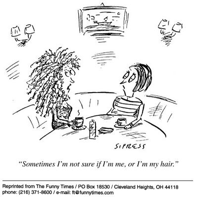 Funny Sipress hair women  cartoon, December 04, 2002