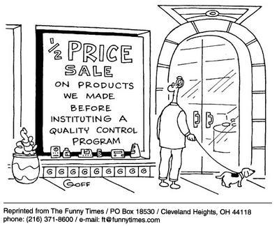 Funny control office sale  cartoon, April 09, 2003