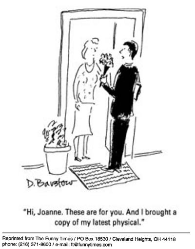 Funny energy love health  cartoon, July 16, 2003