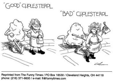 Funny health cats bad  cartoon, July 30, 2003