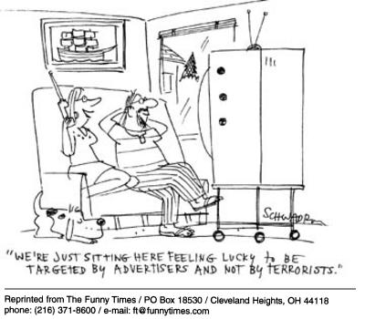 Funny Harley Schwadron television cartoon, August 20, 2003