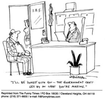 Funny Harley Schwadron government  cartoon, October 08, 2003