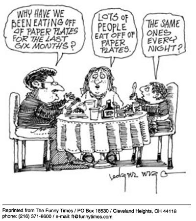 Funny family edgar argo  cartoon, November 19, 2003