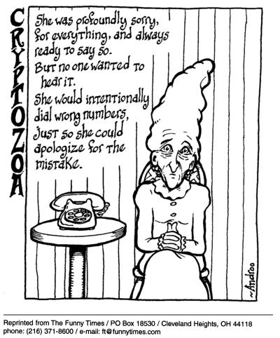 Funny technology androo wrong  cartoon, March 31, 2004