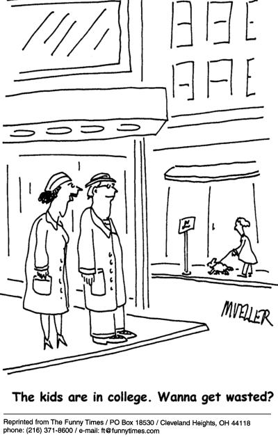 Funny mueller parents PS  cartoon, May 05, 2004