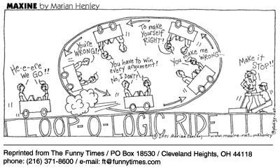 Funny Maxine Marian Henley  cartoon, June 09, 2004