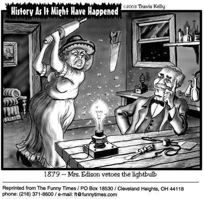 Funny Travis Kelly marketing  cartoon, June 23, 2004