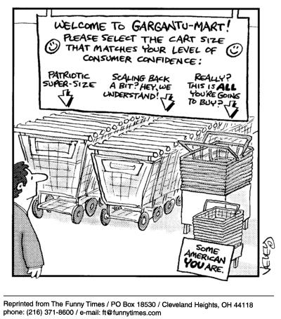 Funny food brad veley  cartoon, July 21, 2004